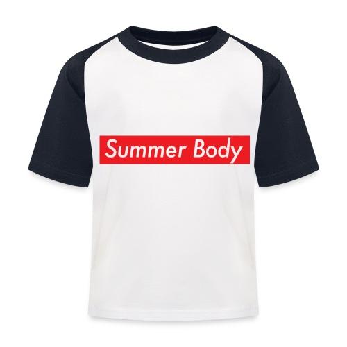 Summer Body - T-shirt baseball Enfant
