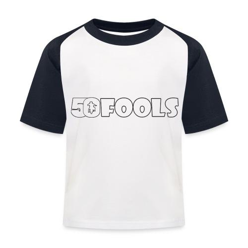 50foolslengtespreadshirt png - Kinderen baseball T-shirt
