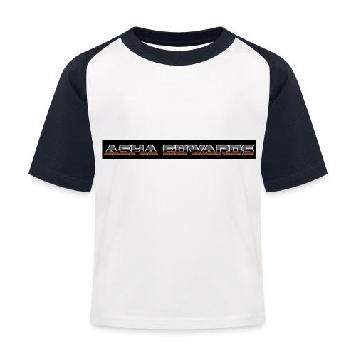Asha_Edwards_Merch_ - Kids' Baseball T-Shirt