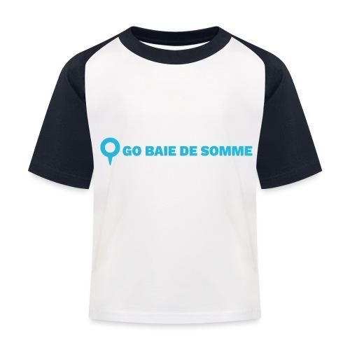 LOGO Go Baie de Somme - T-shirt baseball Enfant