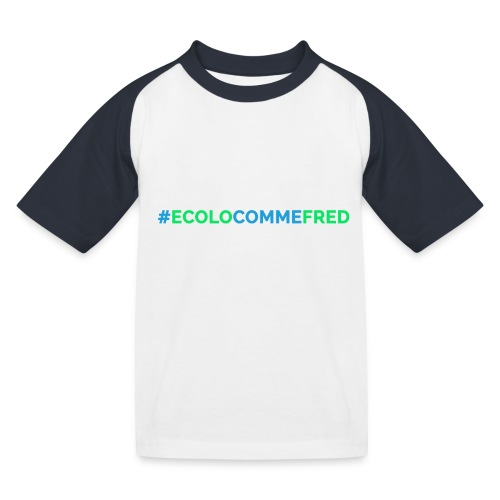 ecolocommefred - T-shirt baseball Enfant