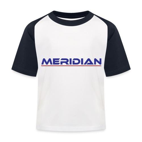 Meridian - Maglietta da baseball per bambini