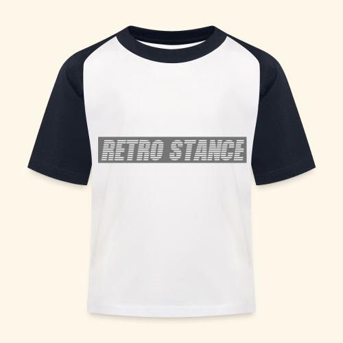 Retro Stance - Kids' Baseball T-Shirt
