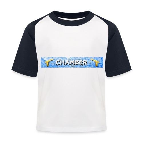 Chamber - Maglietta da baseball per bambini