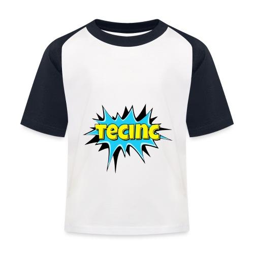Cartoon logo - Baseball T-shirt til børn