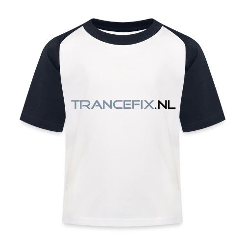 trancefix text - Kids' Baseball T-Shirt