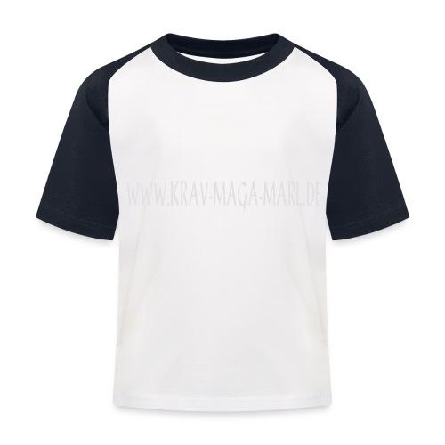 adresse - Kinder Baseball T-Shirt