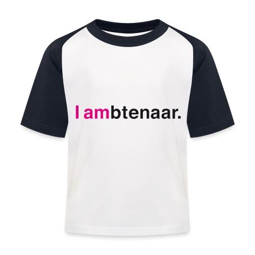 I ambtenaar - Kinderen baseball T-shirt