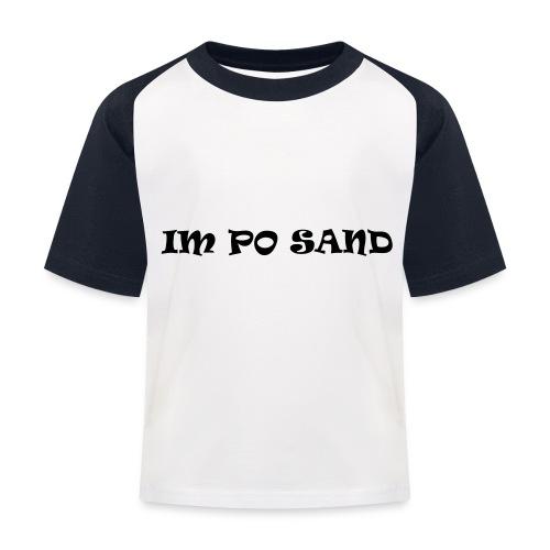 IM PO SAND Unterwäsche - Kinder Baseball T-Shirt