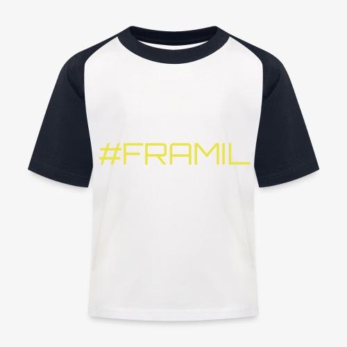 #framil - Lasten pesäpallo  -t-paita