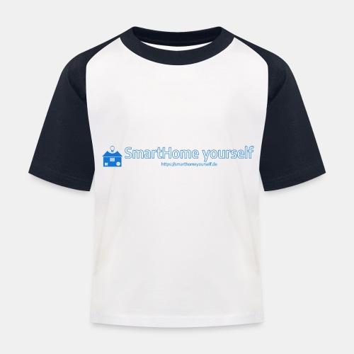 SmarthomeYourself Logo - Kinder Baseball T-Shirt
