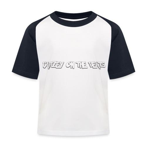 barzey on the beats 4 - Kids' Baseball T-Shirt