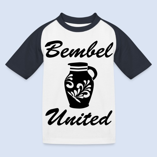 Bembel United Hessen - Kinder Baseball T-Shirt