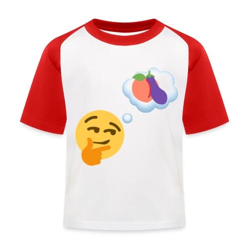 Johtaja98 Emoji - Lasten pesäpallo  -t-paita