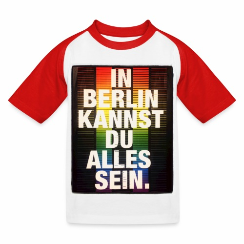 City of Freedom Berl!n - Kids' Baseball T-Shirt