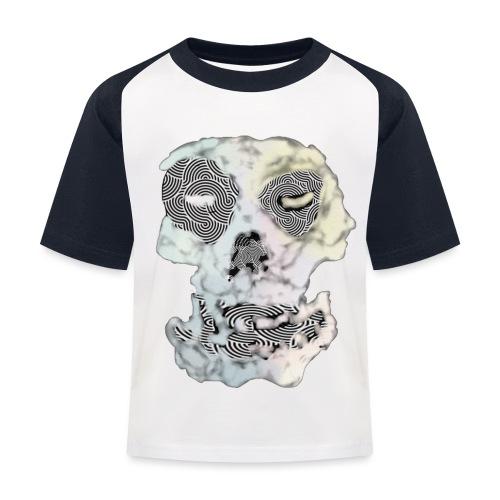 Weird Out Skull - Baseboll-T-shirt barn