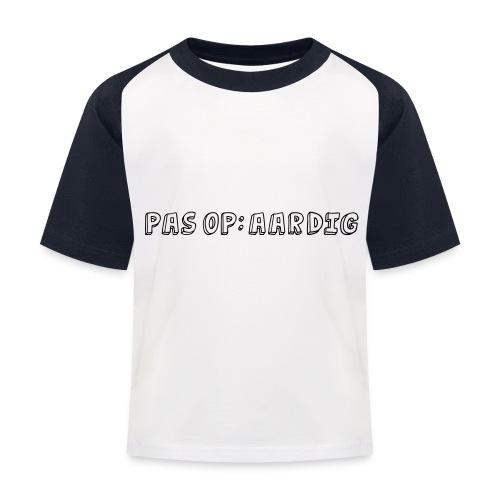 11 zeefdruk - Kinderen baseball T-shirt
