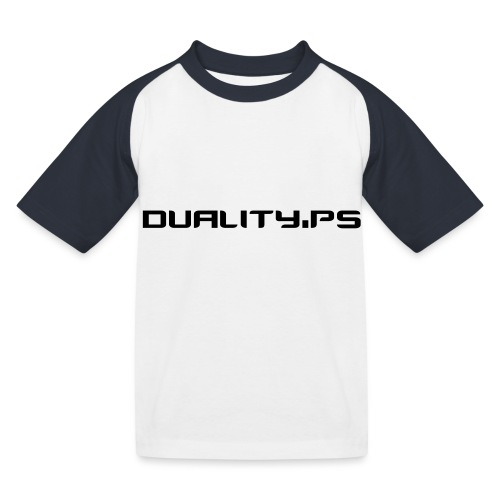 dualitypstext - Baseboll-T-shirt barn