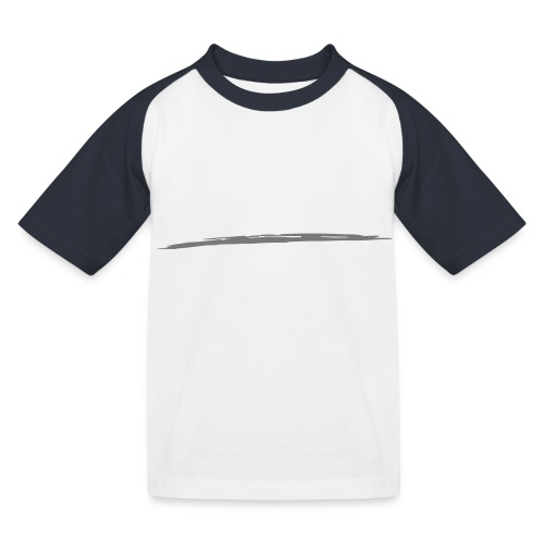 Linie_05 - Kinder Baseball T-Shirt