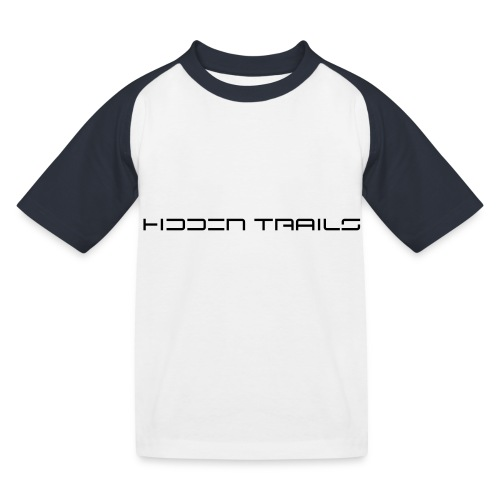 hidden trails - Kinder Baseball T-Shirt