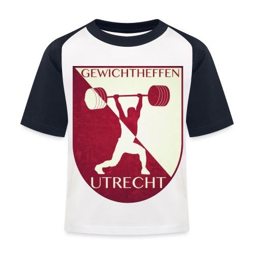 Oldschool Logo - Kinderen baseball T-shirt
