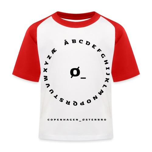 Østerbro - Baseball T-shirt til børn