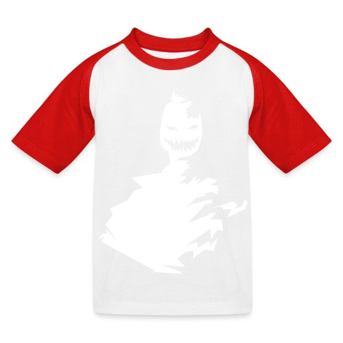 t-shirt monster (white/weiß) - Kinder Baseball T-Shirt