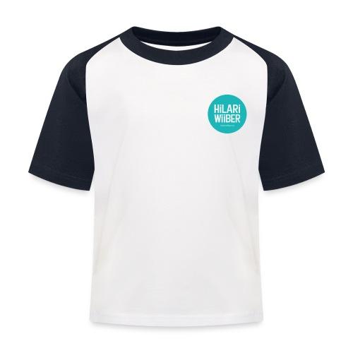 Hilari Wiiber - Kinder Baseball T-Shirt