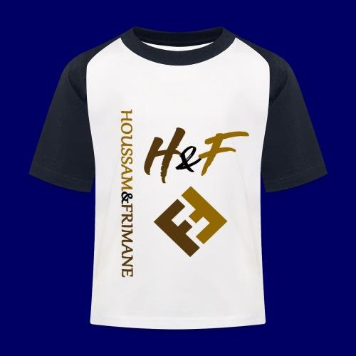 h&F luxury style - Maglietta da baseball per bambini