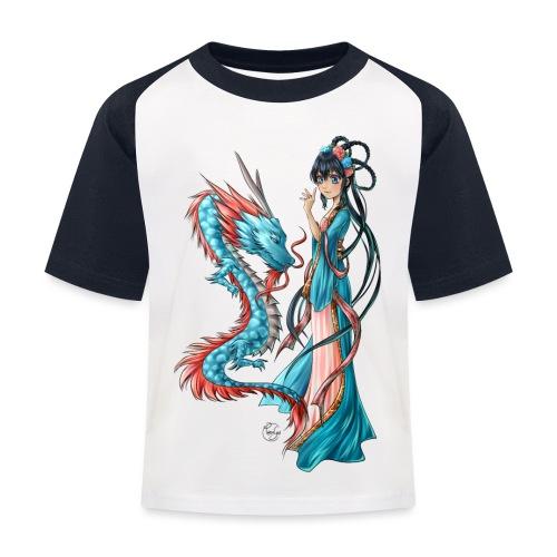 Blue Dragon - T-shirt baseball Enfant