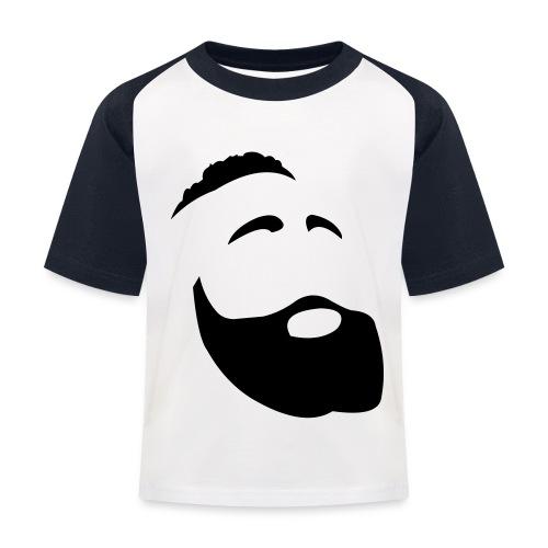 Il Barba, the Beard black - Maglietta da baseball per bambini
