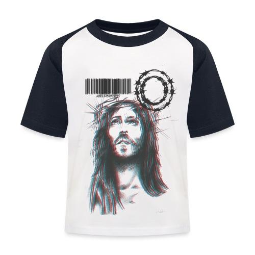 JESUS - Maglietta da baseball per bambini