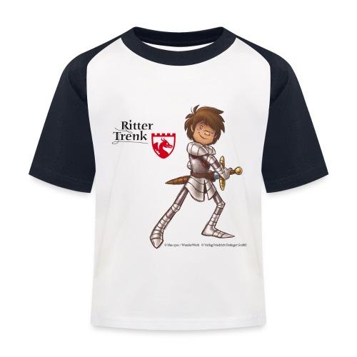 Ritter Trenk Bio-T-Shirt für Kinder - Kinder Baseball T-Shirt