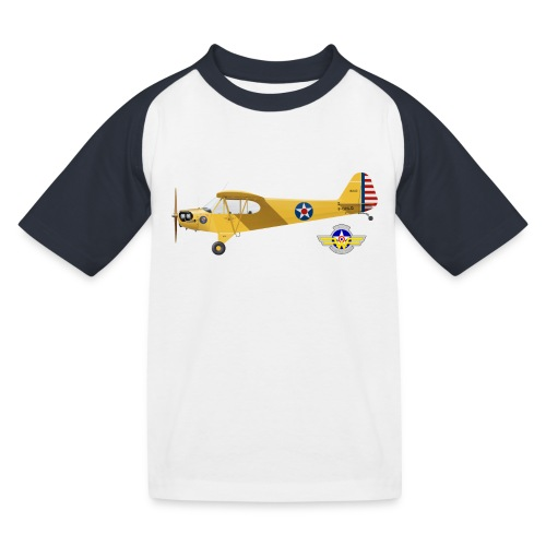 Piper Cub Spirit of Lewis - T-shirt baseball Enfant