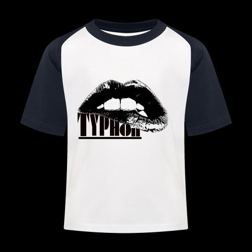 Typhon Original Logo - Kids' Baseball T-Shirt