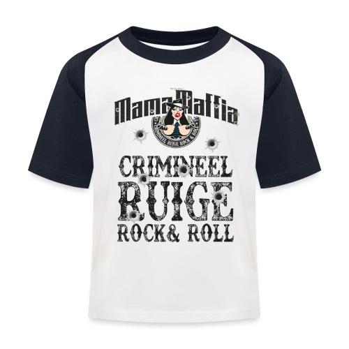 Crimineel Ruige Rock & & Roll Shirt - Kinderen baseball T-shirt
