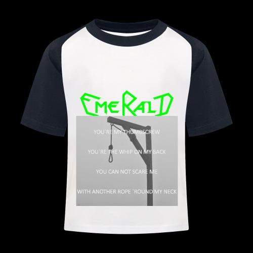 Emerald - Kinder Baseball T-Shirt