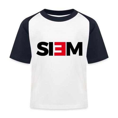 siem_zwart - Kinderen baseball T-shirt