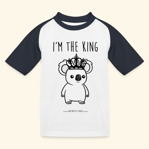 Koala king - T-shirt baseball Enfant