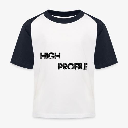 HIGH PROFILE SIMPLE - Kids' Baseball T-Shirt