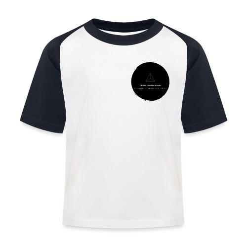 Triforce blend (black) - Kinder Baseball T-Shirt