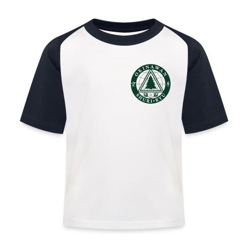 Klubmærke Traditionel placering - Baseball T-shirt til børn