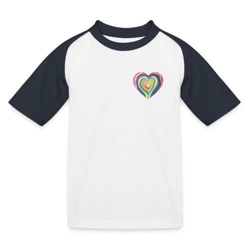 The art of love - Kids' Baseball T-Shirt