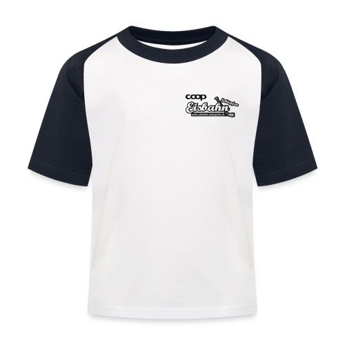 Coop-Eisbahn Schüpfen sw - Kinder Baseball T-Shirt