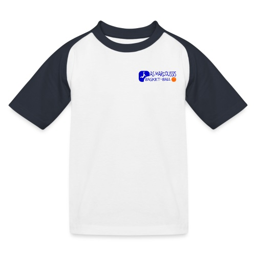 ASM BLEU - T-shirt baseball Enfant