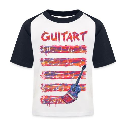 GuitArt - Kids' Baseball T-Shirt