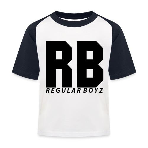 tshirt design regular boyz png - Kinder Baseball T-Shirt