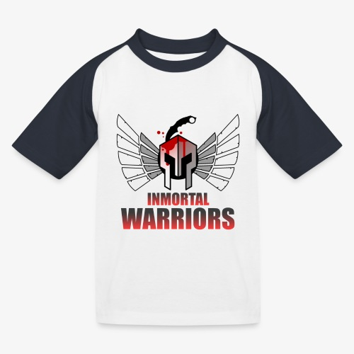 The Inmortal Warriors Team - Kids' Baseball T-Shirt