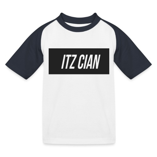 ITZ CIAN RECTANGLE - Kids' Baseball T-Shirt