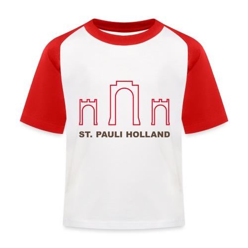 2019 st pauli nl t shirt millerntor 2 - Kinderen baseball T-shirt